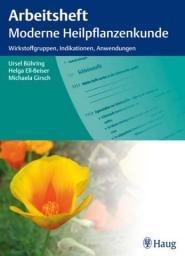 Buchcover: Arbeitsheft moderne Heilpflanzenkunde