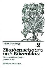 Buchcover: Zikadenschaum und Bärenklau