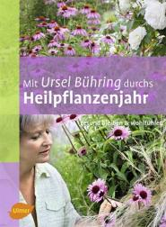 Buchcover: Mit Ursel Bühring durchs Heilpflanzenjahr